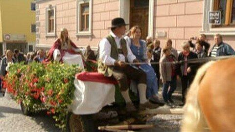 Fest der Erntekronen in Bad Zell – Erntedankfest Mühlviertler Alm