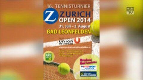 Ankündigung Tennis-Turnier in Bad Leonfelden