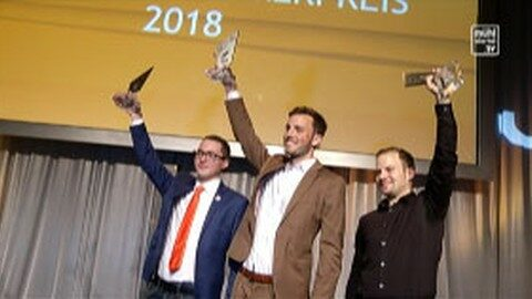 Jungunternehmer Preisverleihung beim Kreisel in Rainbach 2018