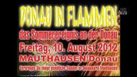 Ankündigung Donau in Flammen in Mauthausen 2012