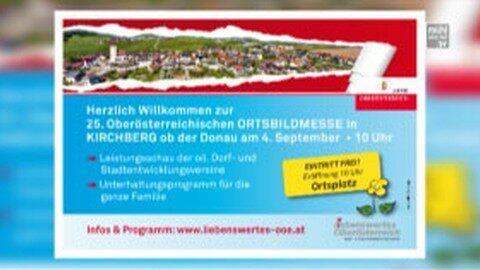 Ankündigung Ortsbildmesse in Kirchberg ob der Donau