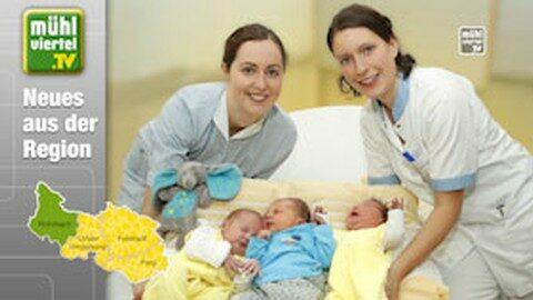 551 Babys taten 2019 im Klinikum Rohrbach ihren ersten Schrei
