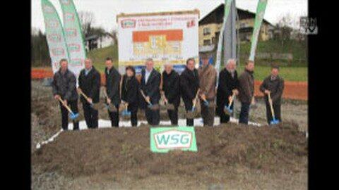 Spatenstich für neues WSG-Projekt in Niederwaldkirchen