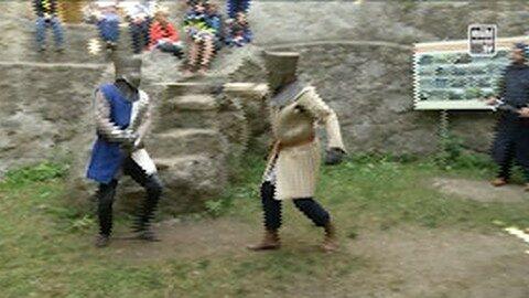 Ankündigung Ritterfest in Reichenau