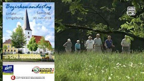 Ankündigung Senioren-Bezirkswandertag in Urfahr-Umgebung
