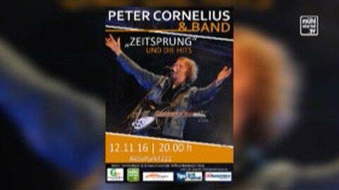 Ankündigung Peter Cornelius im Aktivpark4222 in St. Georgen a. d. Gusen