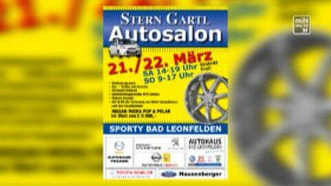 Ankündigung Ankündigung  Sterngartl Autosalon