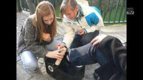15 Jahre Schuhputzaktion der Musikmittelschule Freistadt