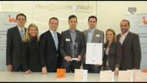 """JW-Award """"Aufsteiger des Jahres 2011"""" erging an die JW Freistadt"""