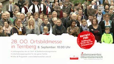 Ankündigung Ortsbildmesse in Ternberg