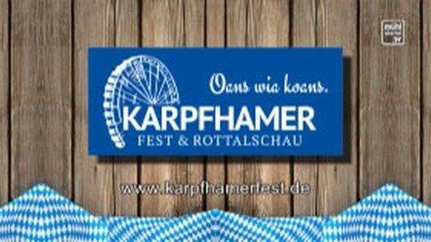 Ankündigung Kapfhamerfest in Niederbayern
