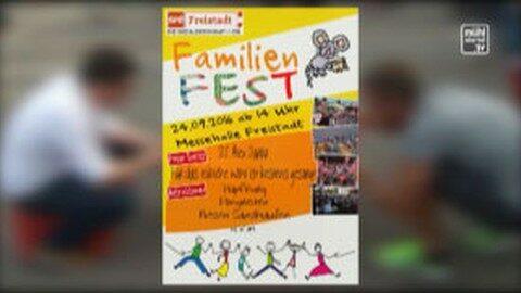 Ankündigung SPÖ Familienfest am 24.9.2106 bei der Messehalle Freistadt