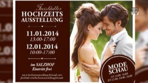Ankündigung Hochzeitsausstellung 2014