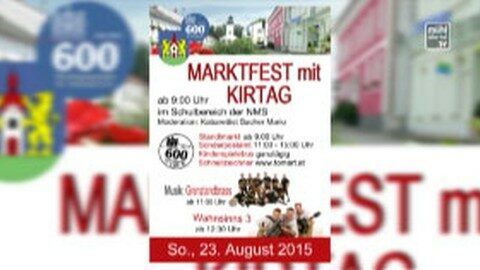 Ankündigung Marktfest mit Kirtag St. Oswald