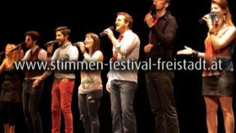 Ankündigung Stimmenfestival in Freistadt