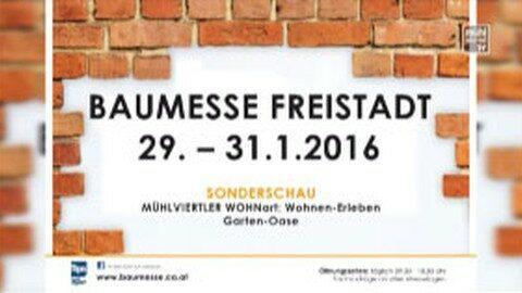 Ankündigung Baumesse in Freistadt 2016