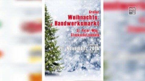 Weihnachts- und Handwerksmarkt in Sankt Peter am Wimberg
