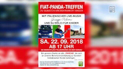 Ankündigung Fiat-Panda Treffen