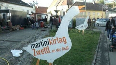 Martinikirtag in Zwettl an der Rodl