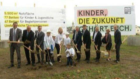 Spatenstich Kinderreha in Rohrbach-Berg