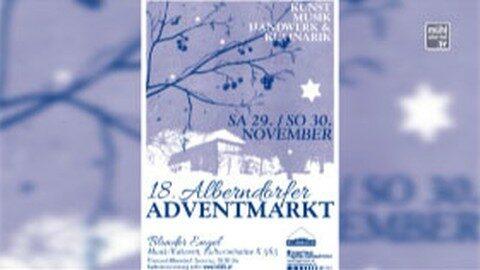 Ankündigung Alberndorfer Adventmarkt 2014