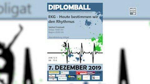 Ankündigung Diplomball der Gesundheits- und Krankenpflegeschule Freistadt