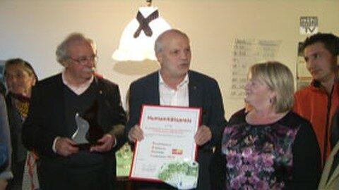 Humanitätspreis an das Asylheim Gutau