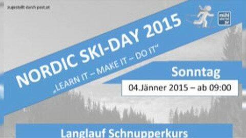 Ankündigung Nordic-Ski-Day am 4.1.2015 in Liebenau