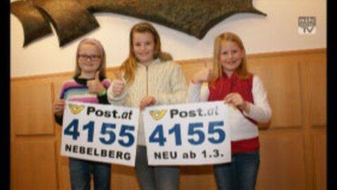 Gemeinden: Neue Postleitzahl für Nebelberg – 4155