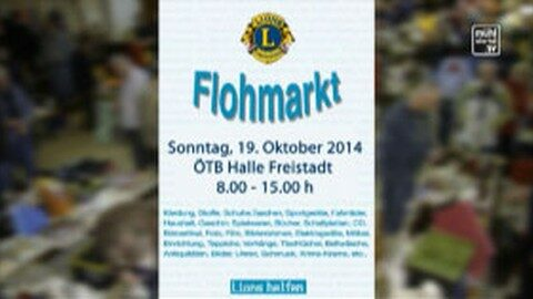 Ankündigung Lions-Fohmarkt am 19.10.2014