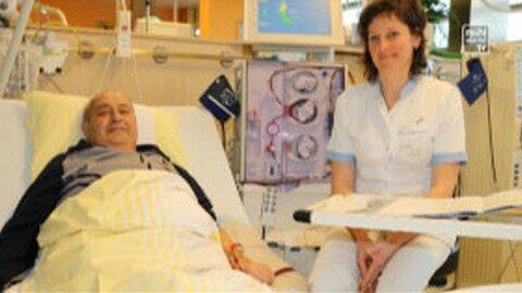 1000. Dialyse von Adolf Eder – lebensnotwendige Blutwäsche am LKH Rohrbach