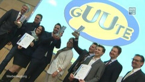 Verleihung des GUUte Awards