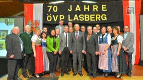 70 Jahre ÖVP Lasberg