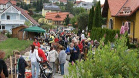 Ankündigung Flohmarkt in St. Veit im Mühlkreis