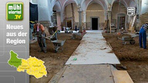 Archäologische Funde bei den Renovierungsarbeiten der Pfarrkirche Rohrbach