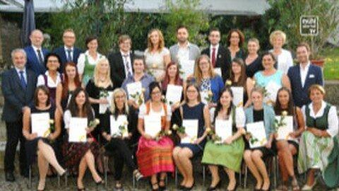 Gesundheits- und Krankenpflegeschule Freistadt und Rohrbach feierten Absolventen