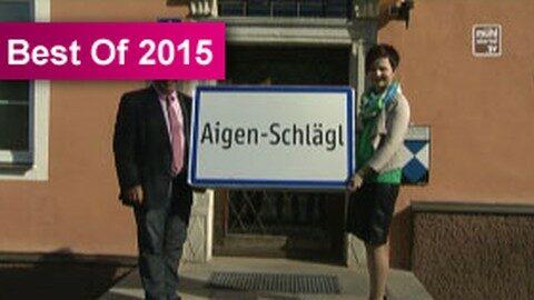 Fusion der Gemeinden Aigen und Schlägl