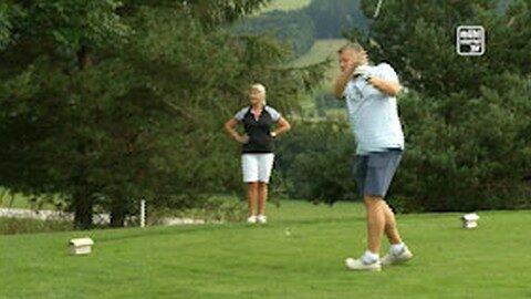 Charity-Golfturnier zugunsten Karibu-World in St. Oswald