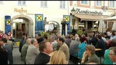 Eröffnung Raiffeisenhaus am Freistädter Hauptplatz