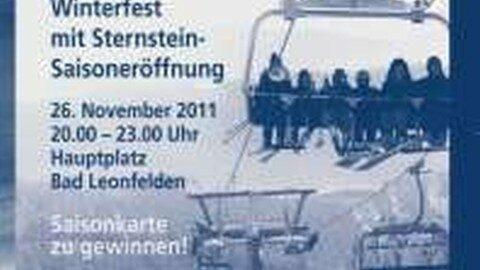 Ankündigung Weihnachtsmarkt in Bad Leonfelden 2011