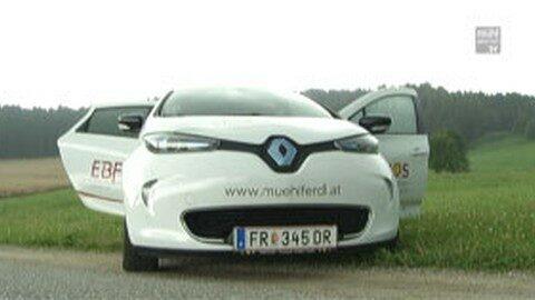 """E-Carsharing Projekt """"Mühlferdl"""" von Rohrbach-Freistadt"""
