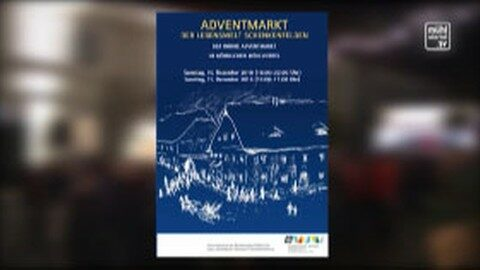 Ankündigung Adventmarkt Lebenswelt Schenkenfelden