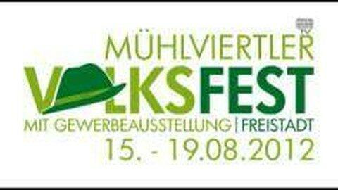Ankündigung Mühlviertler Volksfest von 15.-19. August 2012
