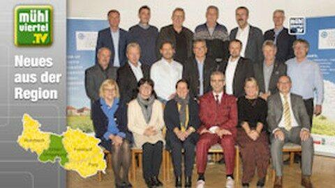 Stabsübergabe in der LEADER-Region Sterngartl Gusental