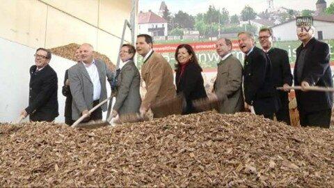 Eröffnung Bio-Fernwärme-Anlage in Freistadt