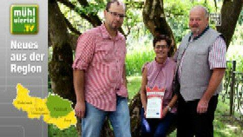 """Medaillen für Biohof Rudlstorfer """"Baiernaz"""""""