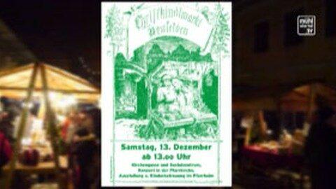 Ankündigung 35. Christkindlmarkt in Neufelden