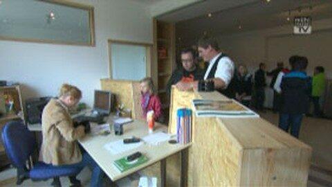 Eröffnung Zimmereibetrieb Henninger in Gutau