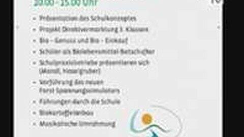 Ankündigung Tag der offenen Tür in der Bioschule Schlägl