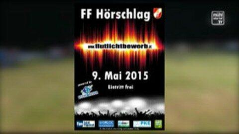 Ankündigung: Flutlichtbewerb FF Hörschlag